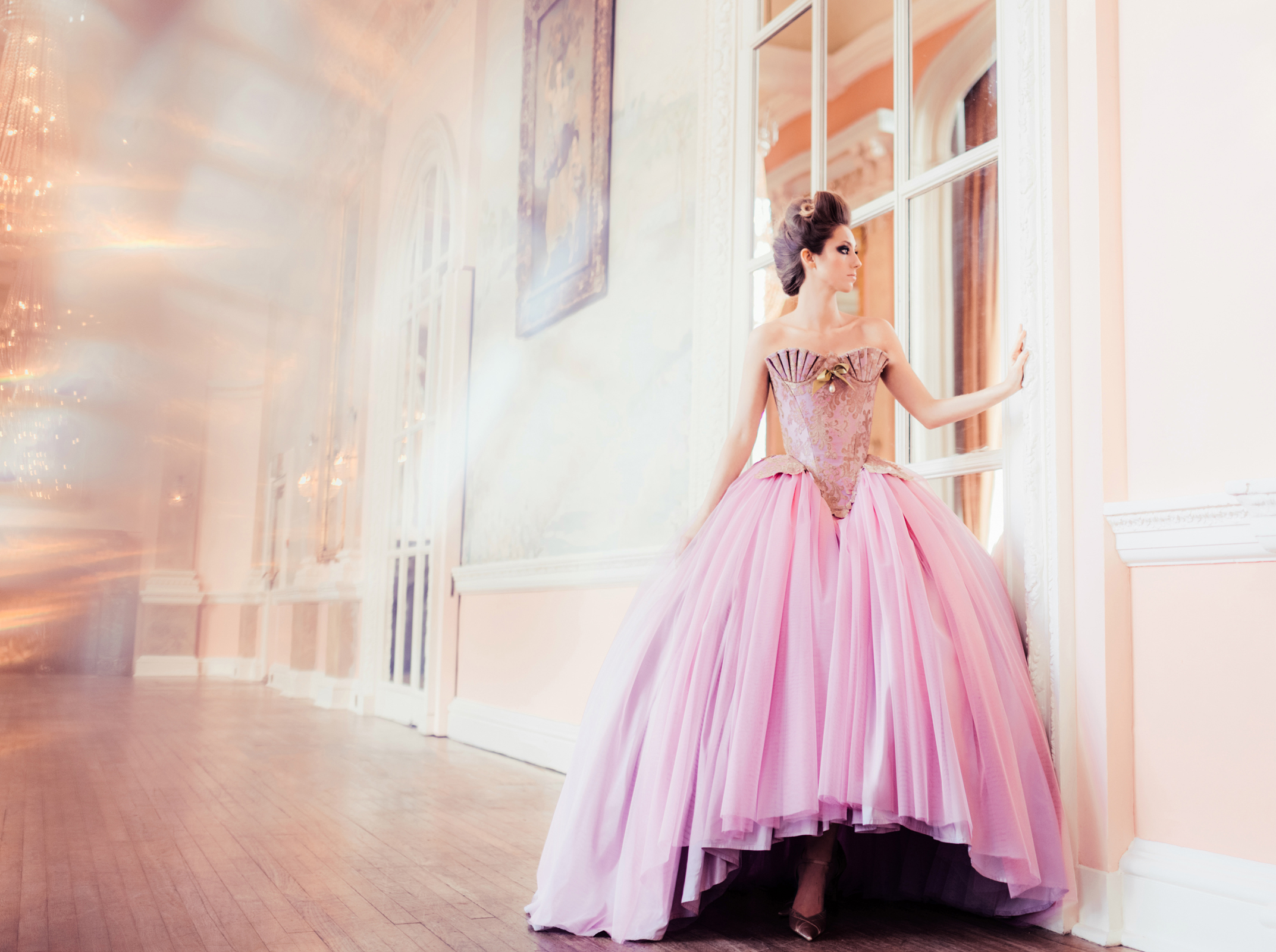 Unique Corseted Bridal Gowns - Chantal Mallett Bridal Couture