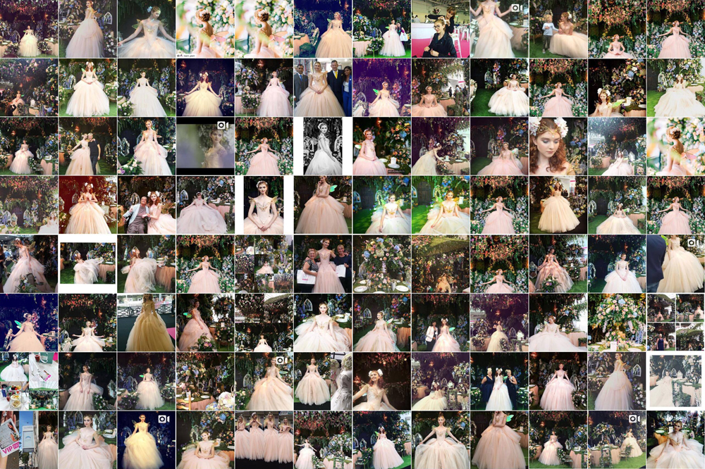 Some of the images of the fairy shared by Instagram users this week.